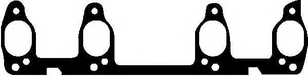 Прокладка выпускного коллектора GLASER X51638-01 - изображение