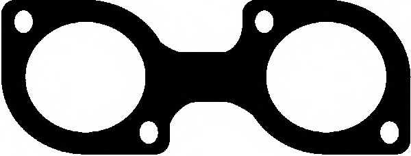 Прокладка выпускного коллектора GLASER X52318-01 - изображение