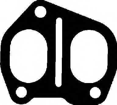 Прокладка выпускного коллектора GLASER X52327-01 - изображение