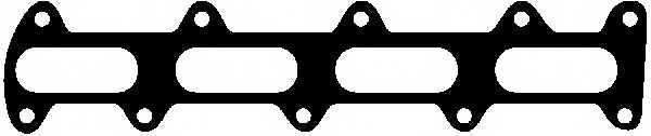 Прокладка выпускного коллектора GLASER X52435-01 - изображение