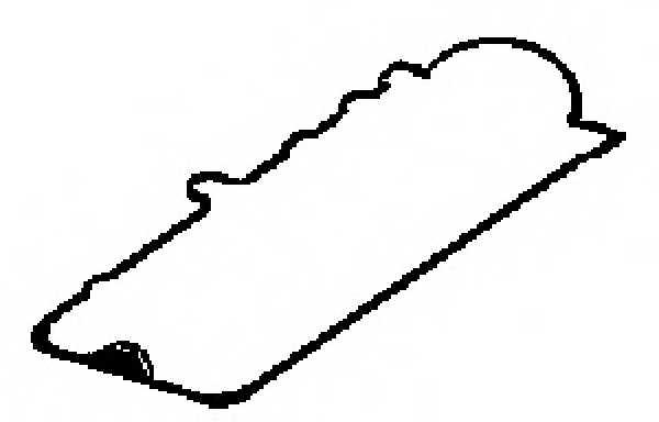 Прокладка крышки головки цилиндра GLASER X53032-01 - изображение
