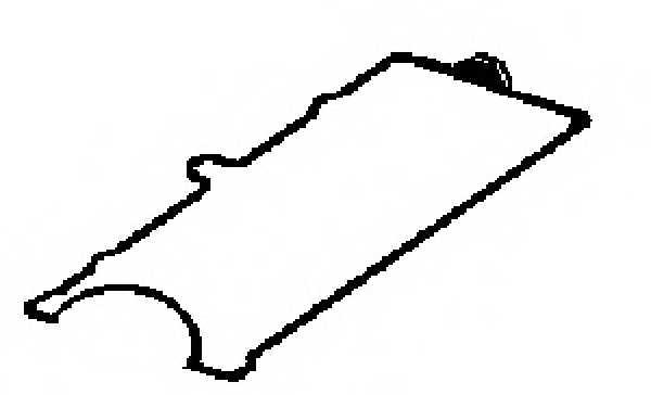 Прокладка крышки головки цилиндра GLASER X53033-01 - изображение