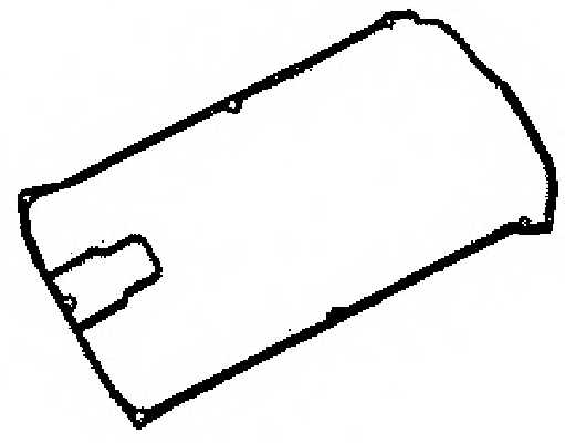 Прокладка крышки головки цилиндра GLASER X53484-01 - изображение