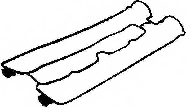 Прокладка крышки головки цилиндра GLASER X53503-01 - изображение