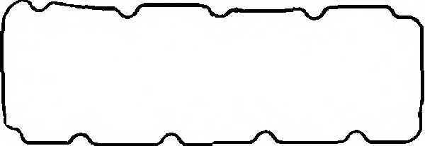 Прокладка крышки головки цилиндра GLASER X53584-01 - изображение