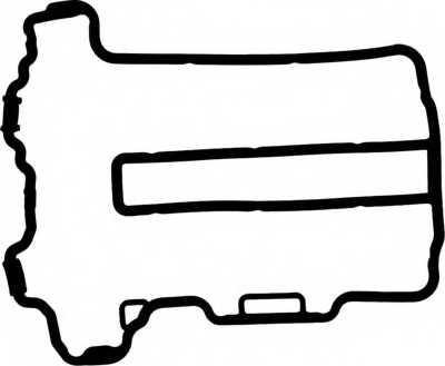 Прокладка крышки головки цилиндра GLASER X53747-01 - изображение