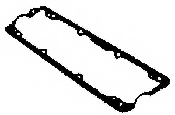 Прокладка крышки головки цилиндра GLASER X53881-01 - изображение