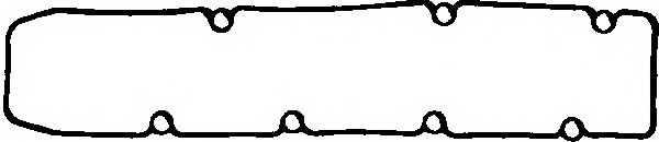 Прокладка крышки головки цилиндра GLASER X53885-01 - изображение
