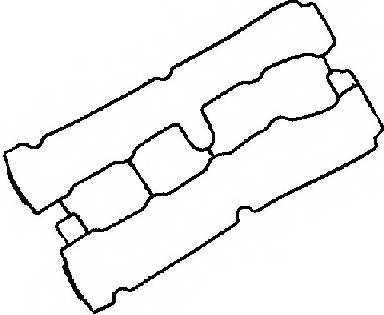 Прокладка крышки головки цилиндра GLASER X53950-01 - изображение