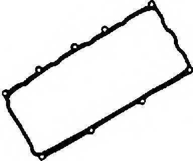 Прокладка крышки головки цилиндра GLASER X53952-01 - изображение