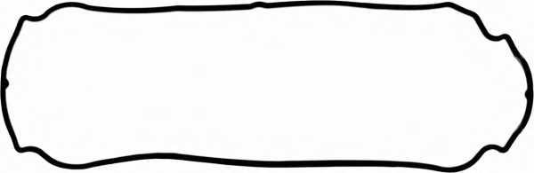Прокладка крышки головки цилиндра GLASER X53955-01 - изображение