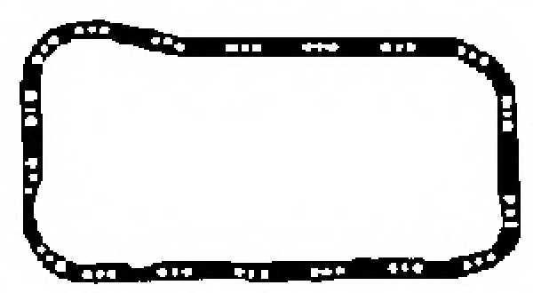 Прокладка маслянного поддона GLASER X54004-01 - изображение