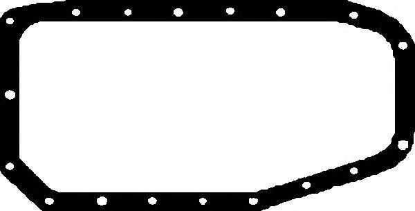 Прокладка, масляный поддон GLASER X54006-01 - изображение