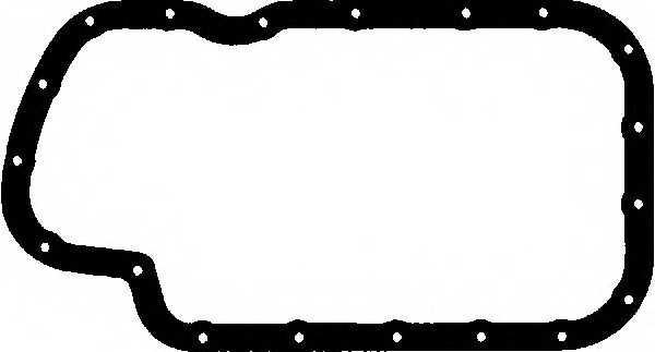 Прокладка, масляный поддон GLASER X54035-01 - изображение