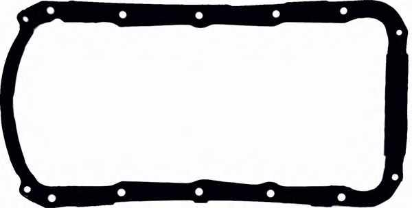 Прокладка, масляный поддон GLASER X54075-01 - изображение