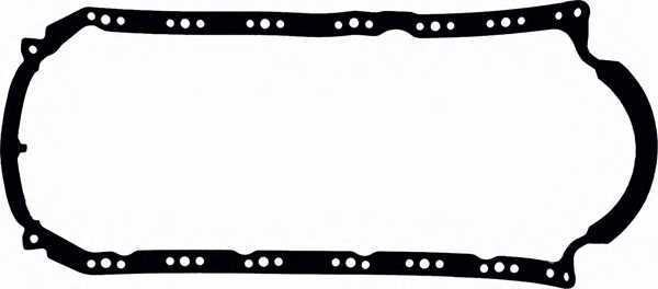 Прокладка, масляный поддон GLASER X54078-01 - изображение