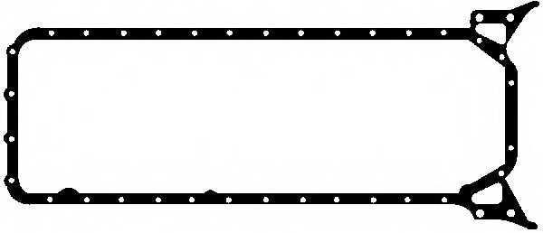 Прокладка, масляный поддон GLASER X54081-01 - изображение