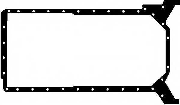 Прокладка, масляный поддон GLASER X54082-01 - изображение