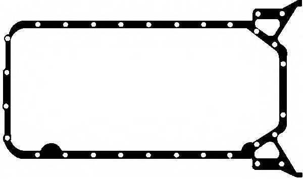 Прокладка, масляный поддон GLASER X54083-01 - изображение