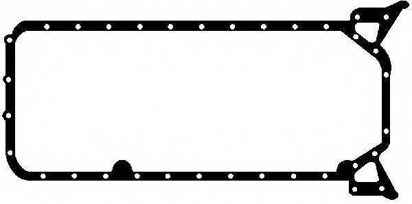 Прокладка, масляный поддон GLASER X54086-01 - изображение