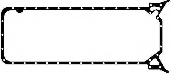 Прокладка, масляный поддон GLASER X54088-01 - изображение