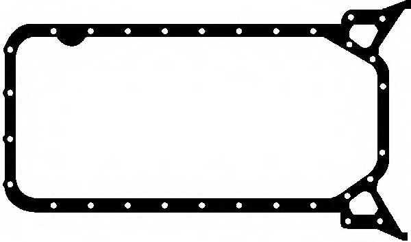 Прокладка, масляный поддон GLASER X54089-01 - изображение