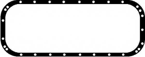 Прокладка, масляный поддон GLASER X54100-01 - изображение