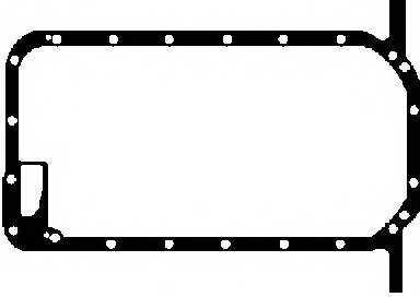 Прокладка, масляный поддон GLASER X54105-01 - изображение