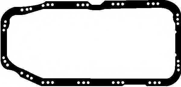 Прокладка, масляный поддон GLASER X54120-01 - изображение