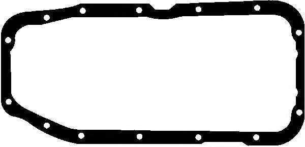 Прокладка, масляный поддон GLASER X54121-01 - изображение