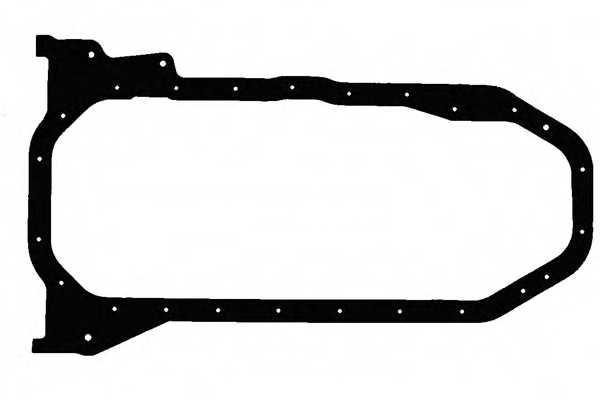 Прокладка, масляный поддон GLASER X54131-01 - изображение