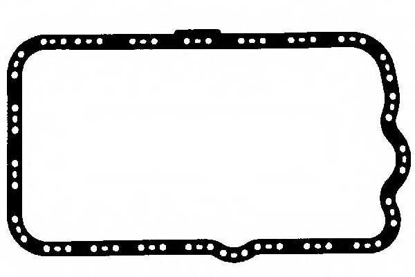 Прокладка, масляный поддон GLASER X54219-01 - изображение
