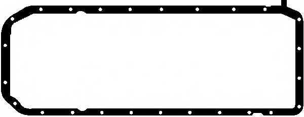 Прокладка, масляный поддон GLASER X54250-01 - изображение