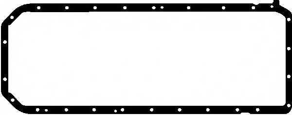 Прокладка, масляный поддон GLASER X54251-01 - изображение