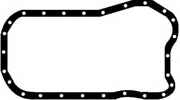 Прокладка, масляный поддон GLASER X54363-01 - изображение