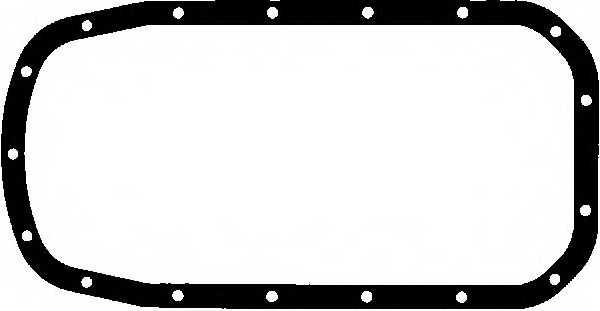 Прокладка, масляный поддон GLASER X54378-01 - изображение