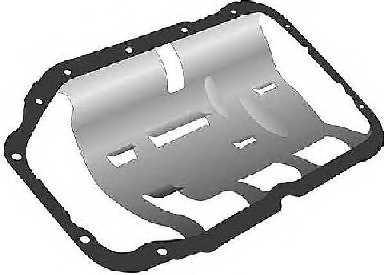 Прокладка, масляный поддон GLASER X54386-01 - изображение