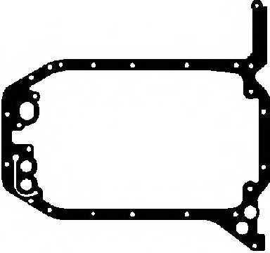 Прокладка, масляный поддон GLASER X54440-01 - изображение
