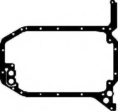 Прокладка, масляный поддон GLASER X54441-01 - изображение