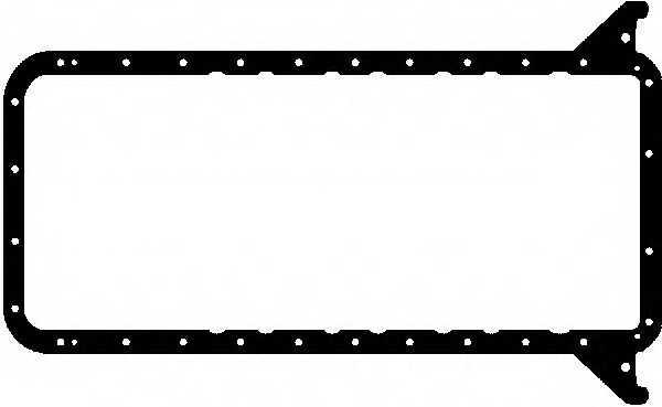 Прокладка, масляный поддон GLASER X54476-01 - изображение