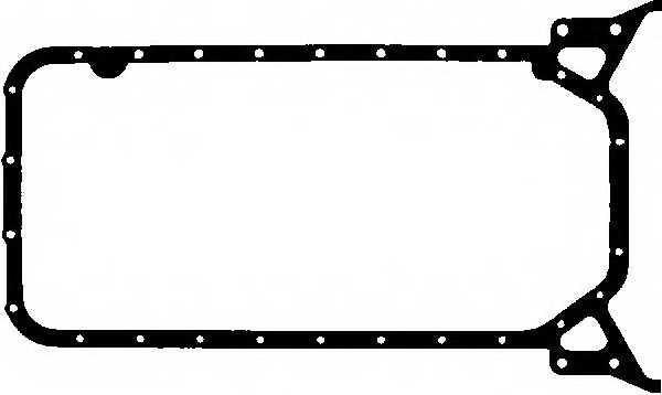Прокладка, масляный поддон GLASER X54488-01 - изображение