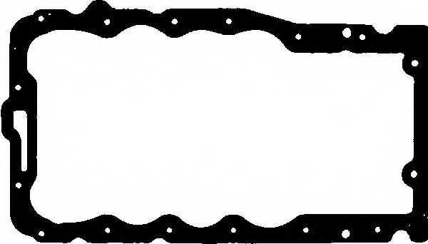 Прокладка, масляный поддон GLASER X54489-01 - изображение