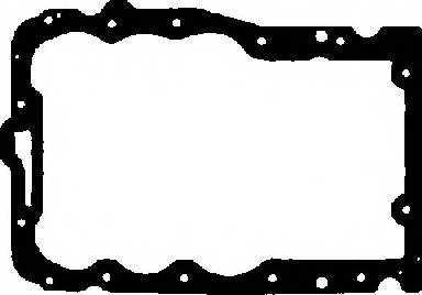 Прокладка, масляный поддон GLASER X54490-01 - изображение
