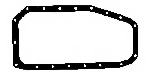 Прокладка, масляный поддон GLASER X54494-01 - изображение