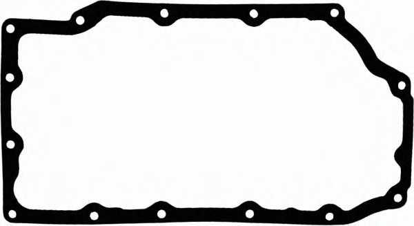 Прокладка, масляный поддон GLASER X54495-01 - изображение