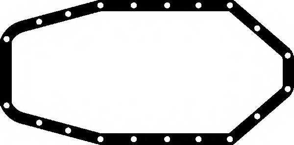 Прокладка, масляный поддон GLASER X54617-01 - изображение