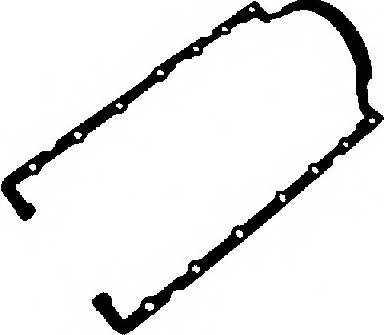 Прокладка, масляный поддон GLASER X54618-01 - изображение
