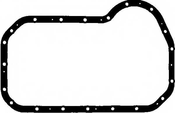 Прокладка, масляный поддон GLASER X54624-01 - изображение