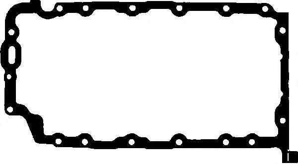Прокладка, масляный поддон GLASER X54631-01 - изображение