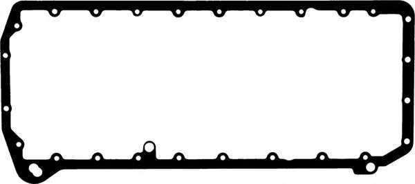 Прокладка, масляный поддон GLASER X54924-01 - изображение